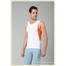 Mais vendidos sem costura sem mangas sportswear.high qualidade homens esportes singlets