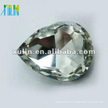 argent sterling retour foiled goutte goutte diamant SWW040