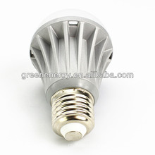 Greenergy Shenzhen LED factory AC85~265V A60 560lm 7W LED Bulb Light E27