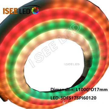 Changement de couleur 5050 RGB LED Neon Tube Strip