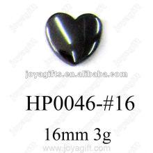 Colgantes del corazón del hematites 16MM