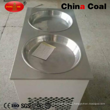 Double Pan Fry Ice Machine