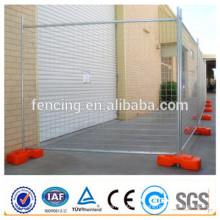 Electro galvanizou o cerco provisório do tubo portátil do controle pedestre / o cerco provisório de aço (preço de fábrica)