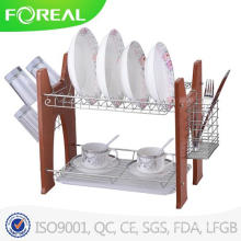 Magic Chef Chromed 2-Tier Dish Rack