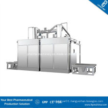 Automatic Bin Washing Station with Double Chamber Meet GMP Standard