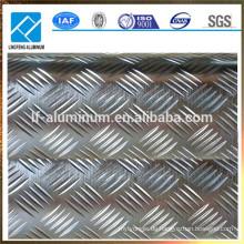 Preis-Preis Aluminium-geprüfte Platte Aluminium-Gewindeplatte für Bodenbelag