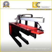 Équipement de soudure automatique à joint droit avec soudure TIG