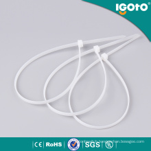 Injection Plastic Products Plastic Cable Tie with Label
