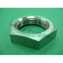 "3/4 ""Acero inoxidable 316 Pipe Fitting Hex Nut"