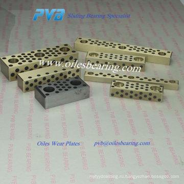 2960.72 раздвижные колодки малых размеров,бронзовая с жидким смазки