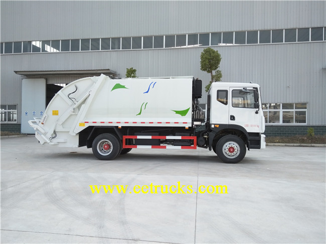 Dongfeng 6 CBM Compacted Garbage Truck