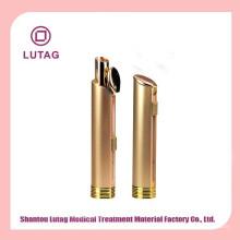 Recipiente plástico cosmético lábio vara tubo vazio