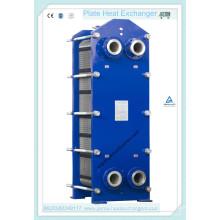 Trocador de calor de placa marinha com placas de titânio (BF30-1.0-100-E)