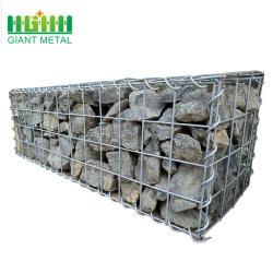Hot dipped galvanized wire mesh stone gabion