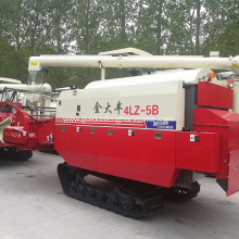 Low Cost for Full-Feeding Rice Combine Harvester Multi-function machinery 98/102hp rice harvester without cab supply to Fiji Factories