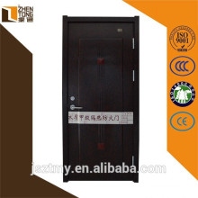 Powder coating / heat transfer fire exit door,steel wooden armored door,wooden fire resistant door