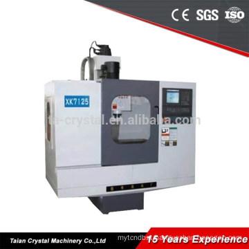 CNC milling machine 5 axis cheap cnc milling lathe machine XK7125