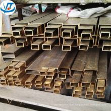 C2720 C2800 H62 H63 H65 square brass pipe / Rectangular / Square Brass Tube 40 x 40mm