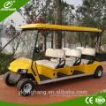 Factory direct sale gas power 6-10 seats golf cart