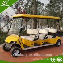 CE certificat Chine usine électrique 6 sièges chariot de golf