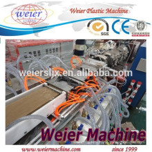 WPC floor ceiling series profile panel making machine
