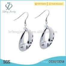 Boucles d'oreilles en argent lanna en vente chaude pour costume de femme
