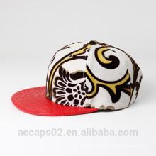 Chapéus de boné simples / cap por atacado de couro
