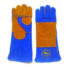 Gants de soudure en cuir Blue Cow Leather