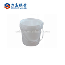 Los nuevos productos forman el molde modificado para requisitos particulares plástico del cubo de la pintura de la pared molde fino del cubo de la pintura de la pared
