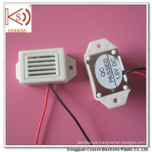 400kHz 500kHz 3V 6V 9V with Wires White Mechanical Buzzer