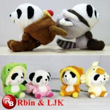 Juguetes de peluche de panda animal grandes ojos