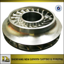 Stainless Steel CNC Machining Turbine Impeller