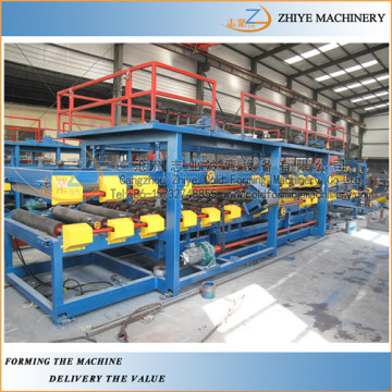 Rock Wool PU Sandwich Panel Machine