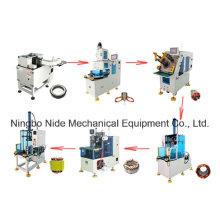 Автоматические трехфазные моторные статорные производственные линии