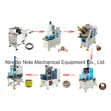Automatische Dreiphasen-Motor Stator Fertigung Produktionslinien