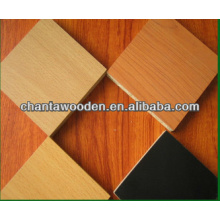 decorative grade best melamine faced particle board/ melamine MDF