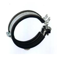 A17 3 15 personnalisé collier de serrage plaqué zinc collier de serrage en caoutchouc collier de serrage