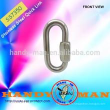 SS7350 Marine Deck Hardware Acier inoxydable 304 Quick Link Hook