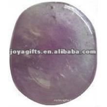 amethyst Worry stone thumb