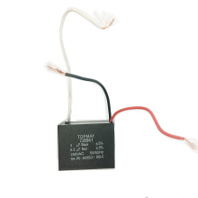 Condensador de ventilador 3 + 6.5UF Cbb61 250VAC