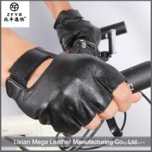 Chine fournisseur de haute qualité élégant homme vélo cuir gants de conduite