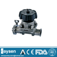 Hygienic diaphragm valves weld and clamp end