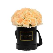 Caixa de flor de carimbo quente personalizado com alça
