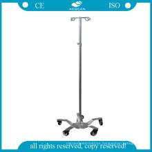 AG-Ivp001 Hospital Stainless Steel IV Rod