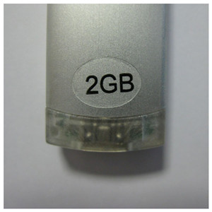 Memory Sticker On USB Housing