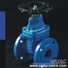 Non-Rising Stem Cast Iron RF Flanged Soft Seat Gate Valve