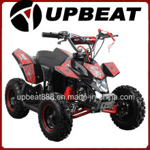 Upbeat 49cc ATV Pull Start with 6 Inch Wheels