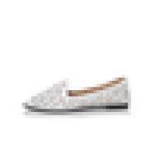 Новый дизайн женщин лазерной плоской обуви Оптовая 2016 Летняя дышащая плоский башмак