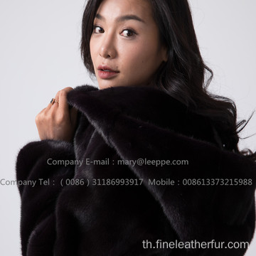 เสื้อคลุม Kopenhagen Mink Fur Reversible Lady