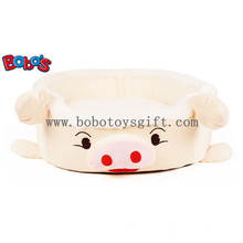 Plush cama de cerdo rellena de mascota para perros gato Bosw1095 / 45X40X13cm